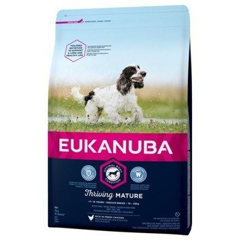 Eukanuba Thriving Mature Medium Breed 15kg